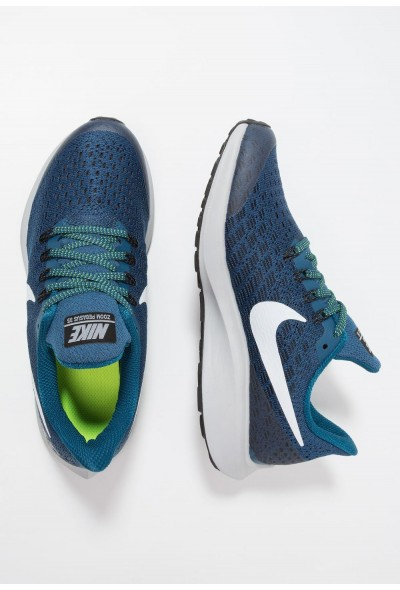Nike AIR ZOOM PEGASUS 35 - Chaussures de running neutres blue force/white/black/wolf grey/volt liquidation