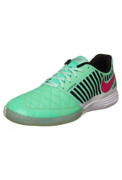Black Friday 2020 | Nike LUNARGATO II - Chaussures de foot en salle green glow/pink foil/black liquidation