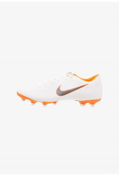 Black Friday 2020 | Nike MERCURIAL VAPOR 12 ACADEMY MG - Chaussures de foot à crampons white/chrome/total orange liquidation