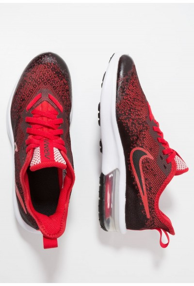 Nike AIR MAX SEQUENT 4 - Chaussures de running neutres black/university red liquidation