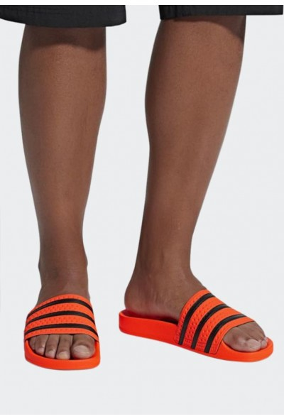 Black Friday 2020 | Adidas ADILETTE SLIDES - Mules orange pas cher