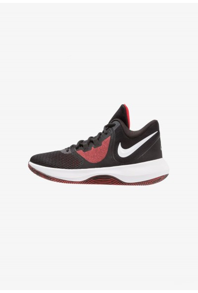 Nike AIR PRECISION II - Chaussures de basket black/white/university red liquidation