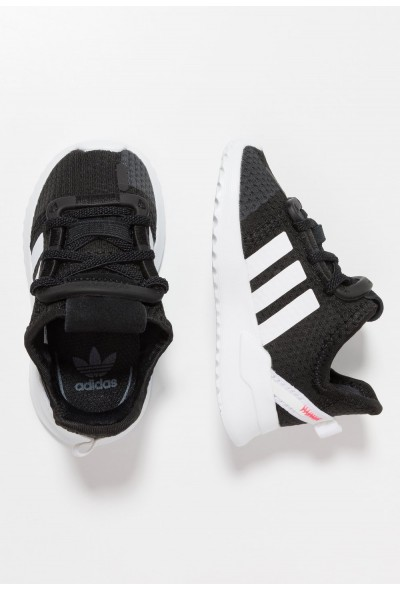 Adidas PATH RUN  - Baskets basses clear black/footwear white/shock red pas cher