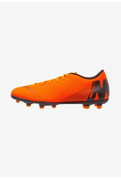 Black Friday 2020 | Nike MERCURIAL VAPOR 12 CLUB MG - Chaussures de foot à crampons total orange/white/volt/black liquidation