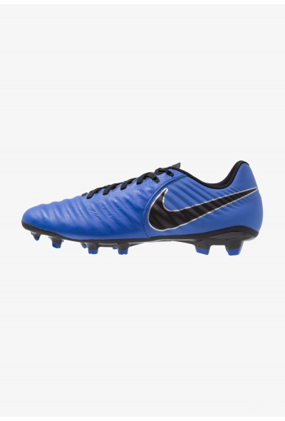 Black Friday 2020 | Nike LEGEND 7 ACADEMY FG - Chaussures de foot à crampons racer blue/black/metallic silver liquidation