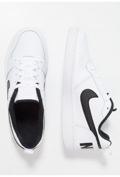 Nike COURT BOROUGH  - Baskets basses white/black liquidation