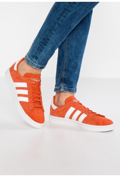 Adidas CAMPUS - Baskets basses raw amber/footwear white/crystal white pas cher