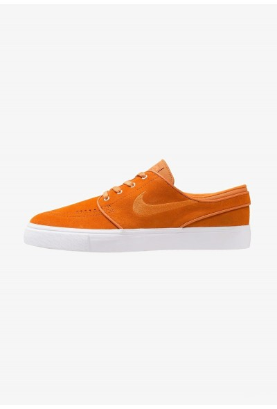 Nike ZOOM STEFAN JANOSKI - Baskets basses cinder orange/white/yellow liquidation