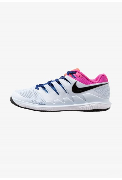 Nike AIR ZOOM VAPOR X HC - Baskets tout terrain half blue/black/white/laser fuchsia/bright crimson/indigo force liquidation
