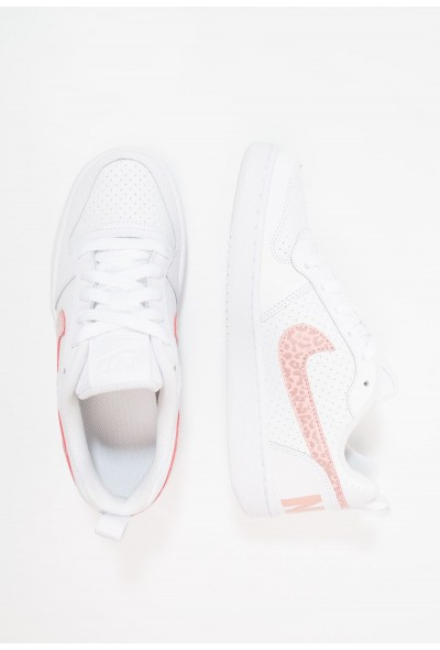 Nike COURT BOROUGH - Baskets basses white/rust pink/coral stardust liquidation