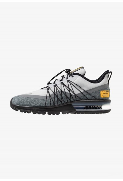 Nike AIR MAX SEQUENT 4 UTILITY - Chaussures de running neutres wolf grey/reflect silver/cool grey/black/amarillo liquidation