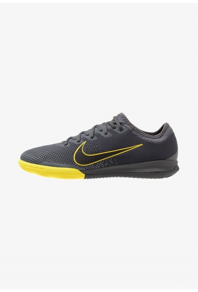 Nike MERCURIAL VAPORX 12 PRO IC - Chaussures de foot en salle anthracite/opti yellow/dark grey/black liquidation