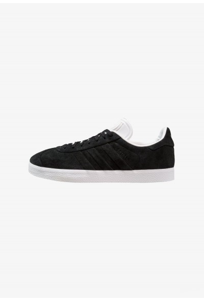 Adidas GAZELLE STITCH AND TURN - Baskets basses core black/footwear white pas cher