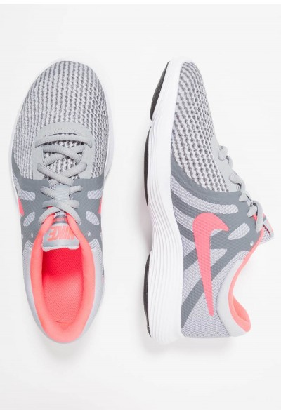 Black Friday 2020 | Nike REVOLUTION 4 - Chaussures de running neutres wolf grey/racer pink/cool grey/white liquidation