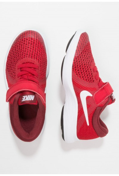 Nike REVOLUTION 4 - Chaussures de running neutres gym red/white/team red/black liquidation