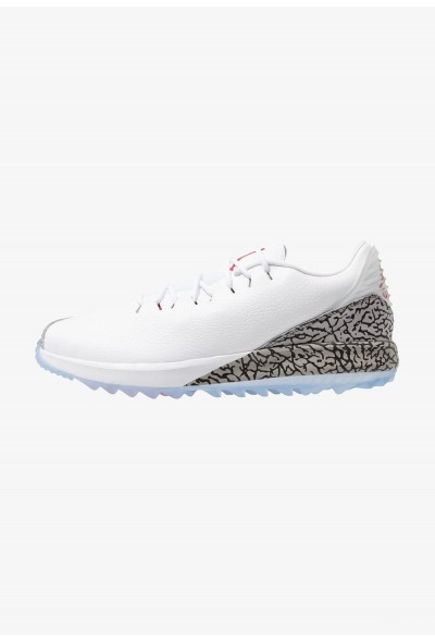 Nike JORDAN ADG - Chaussures de golf white/fire red/cement grey liquidation