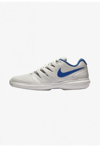 Nike AIR ZOOM PRESTIGE HC - Baskets tout terrain grey/dark blue liquidation