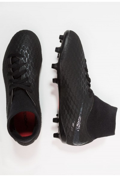 Nike PHANTOM 3 ACADEMY DF FG - Chaussures de foot à crampons black/light crimson liquidation