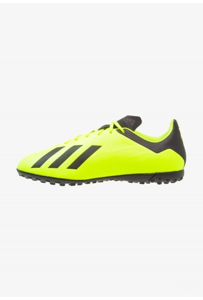 Adidas X TANGO 18.4 TF - Chaussures de foot multicrampons solar yellow/core black/footwear black pas cher