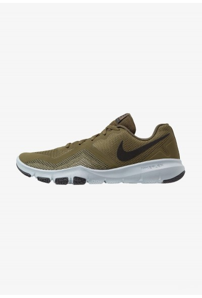 Nike FLEX CONTROL II - Chaussures d'entraînement et de fitness olive/black/medium olive/neutral olive/light bone/wolf grey liquidation
