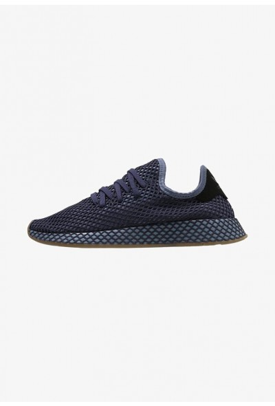 Adidas DEERUPT RUNNER - Baskets basses darkblue/ashblue pas cher