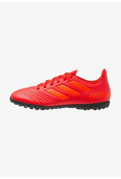 Adidas PREDATOR 19.4 TF - Chaussures de foot multicrampons active red/solar red/core black pas cher