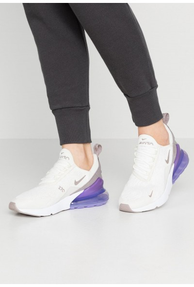 Nike AIR MAX 270 - Baskets basses sail/pumice/space purple/white liquidation