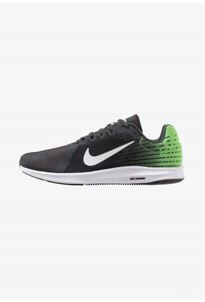 Nike DOWNSHIFTER 8 - Chaussures de running neutres anthracite/white/lime blast/black liquidation