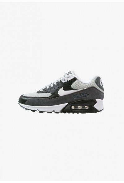 Nike AIR MAX 90 ESSENTIAL - Baskets basses grey mist/white/black/dark grey liquidation