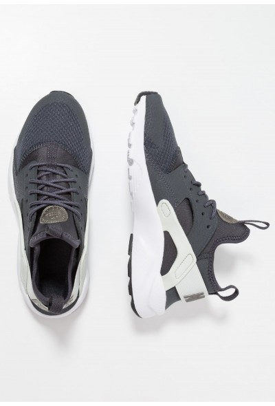 Nike AIR HUARACHE RUN ULTRA  - Baskets basses anthracite/metallic pewter/spruce aura/black liquidation