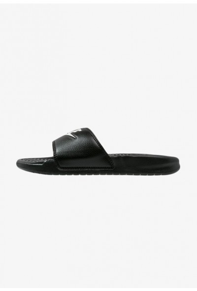 Black Friday 2020 | Nike BENASSI JDI - Sandales de bain black/white liquidation