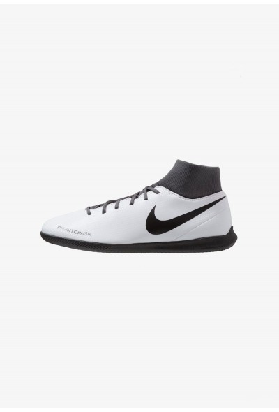 Nike PHANTOM OBRAX 3 CLUB DF IC - Chaussures de foot en salle wolf grey/black/light crimson liquidation