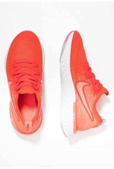 Nike EPIC REACT FLYKNIT 2 - Chaussures de running neutres chile red/bright crimson/vast grey/black liquidation