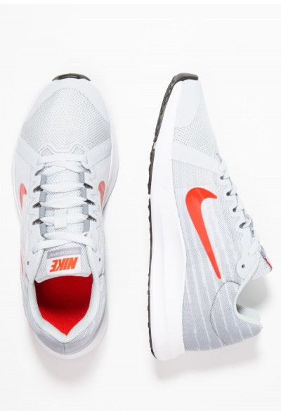 Nike DOWNSHIFTER  - Chaussures de running neutres pure platinum/habanero red/black liquidation