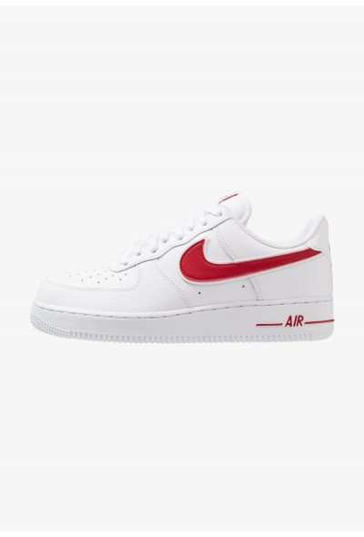 Nike AIR FORCE 1 '07 - Baskets basses white/gym red liquidation