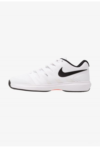 Nike AIR ZOOM PRESTIGE HC - Baskets tout terrain white/black/bright crimson liquidation