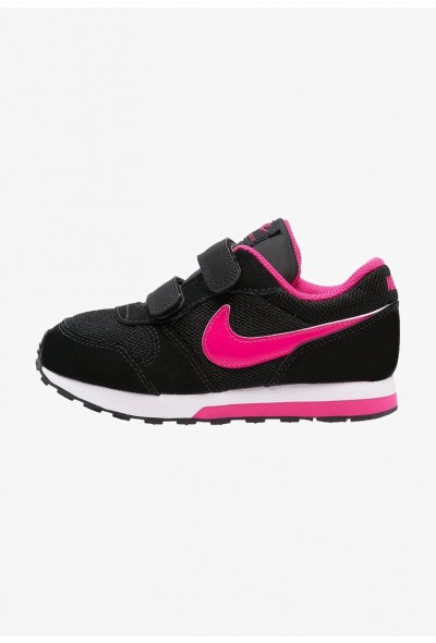 Black Friday 2020 | Nike MD RUNNER 2  - Chaussures premiers pas black/vivid pink/white liquidation