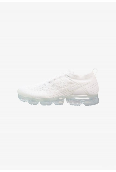 Nike AIR VAPORMAX FLYKNIT - Chaussures de running neutres white/pure platinum liquidation