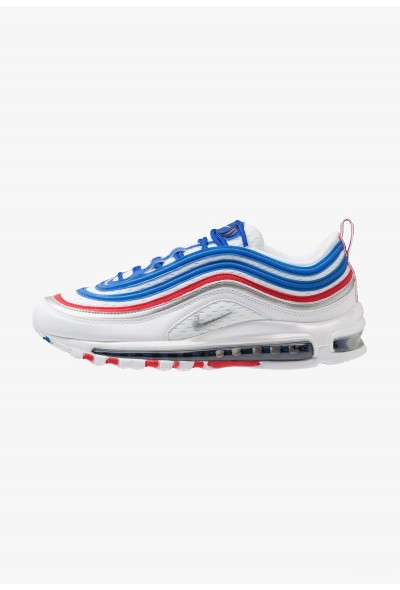 Nike AIR MAX 97 - Baskets basses game royal/metallic silver/university red liquidation