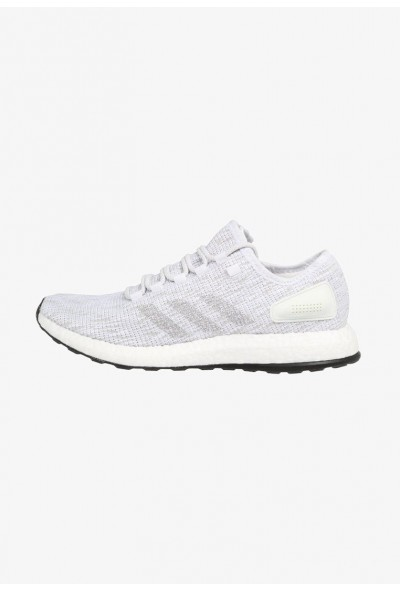 Adidas PUREBOOST - Chaussures de running neutres white/grey one/crystal white pas cher