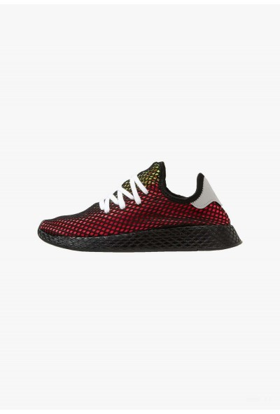 Adidas DEERUPT RUNNER - Baskets basses red/black/white pas cher