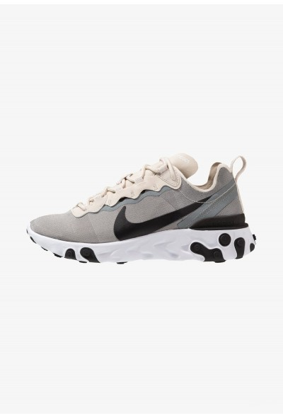 Nike REACT 55 - Baskets basses light orewood brown/golden beige/white/black/yellow liquidation