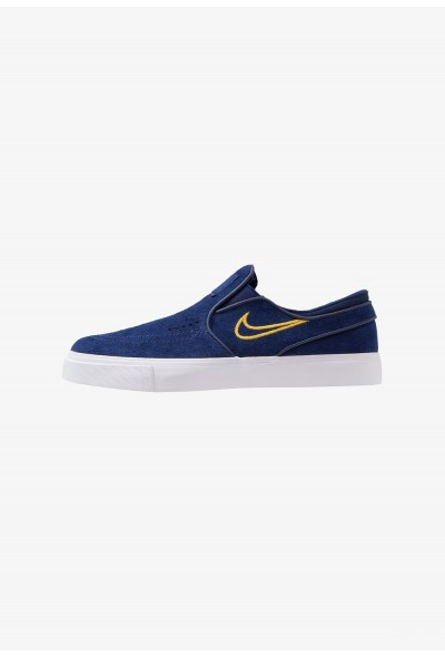 Nike ZOOM STEFAN JANOSKI - Mocassins blue void/yellow ochre liquidation