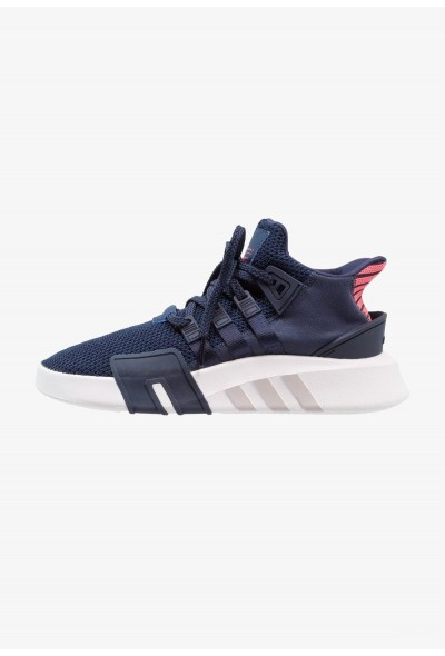 Adidas EQT BASK ADV - Baskets basses collegiate navy/real coral pas cher