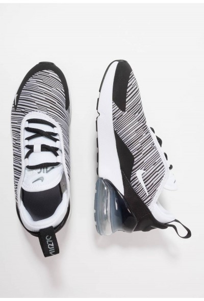 Nike AIR MAX 270  - Baskets basses black/white/cool grey/metallic silver liquidation