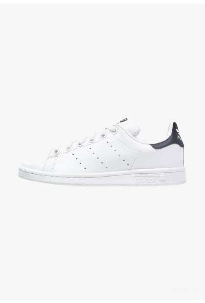 Adidas STAN SMITH - Baskets basses run white/new navy pas cher