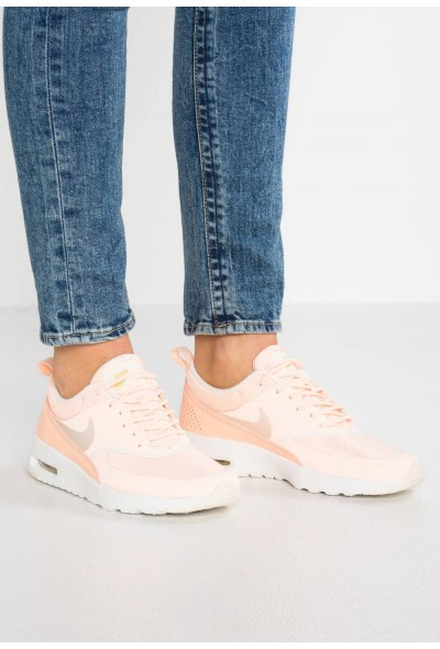 Nike AIR MAX THEA - Baskets basses crimson tint/pale ivory/celery/summit white liquidation