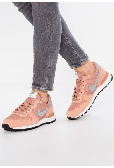 Nike INTERNATIONALIST - Baskets basses rose gold/wolf grey/summit white/black liquidation