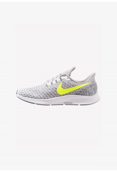 Nike AIR ZOOM PEGASUS 35 - Chaussures de running neutres white/volt/gunsmoke/atmosphere grey liquidation