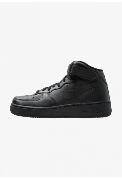 Nike AIR FORCE 1 MID '07 - Baskets montantes black liquidation